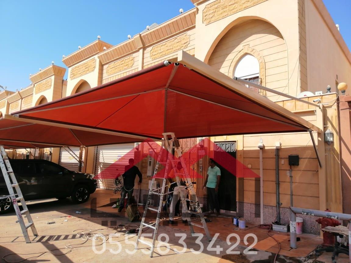 تركيب مظلات سيارات في القصيم ,0555833422 , مظلات وسواتر القصيم , نوفر لكم افضل انواع مظلات سيارات , P_1619p0uuj6